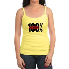 100 Percent Recycled Jr. Spaghetti Tank
