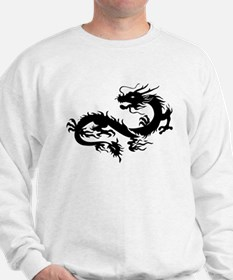 Chinese dragon art Sweatshirt