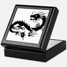 Chinese dragon art Keepsake Box