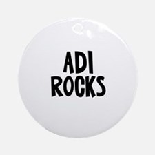 Adi Rocks Ornament (Round)