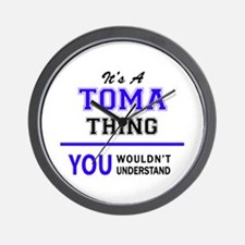 It's TOMA thing, you wouldn't understan Wall Clock