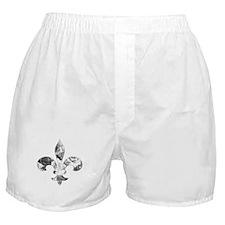 Floral Fleur de lis (1) Boxer Shorts