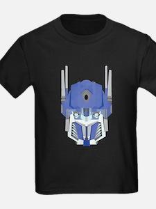 Blue transformer design T-Shirt