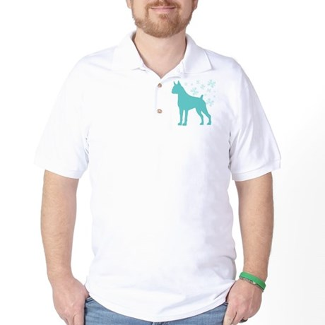 Boxer Snowflake Golf Shirt