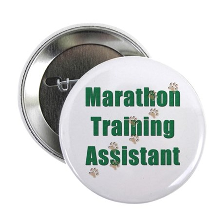 """Marathon Training Assistant 2.25"""" Button (100 pack"""