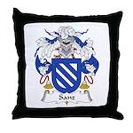 Sanz I Throw Pillow