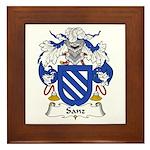 Sanz I Framed Tile