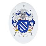 Sanz I Oval Ornament
