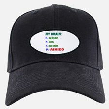 My Brain, 90% For Aikido Baseball Hat