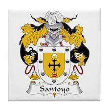 Santos Tile Coaster
