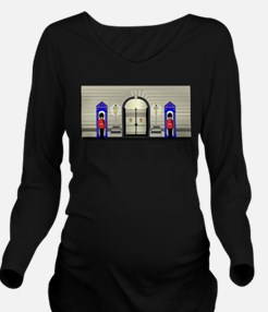 Guards On Duty Long Sleeve Maternity T-Shirt