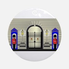 Guards On Duty Round Ornament