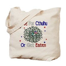 Vote For Cthulhu Tote Bag