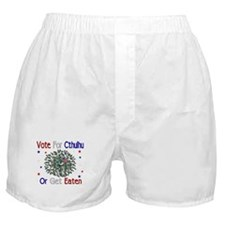 Vote For Cthulhu Boxer Shorts