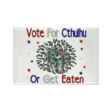 Vote For Cthulhu Rectangle Magnet (100 pack)