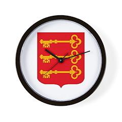 Avignon City Wall Clock