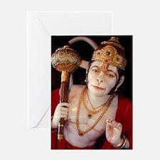 Funny Hanuman Greeting Card