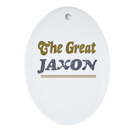Jaxon Oval Ornament