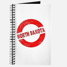 Rubber Ink Stamp North Dakota Journal