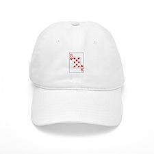 """Eight of Hearts"" Baseball Cap"