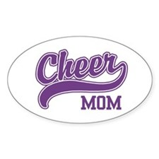 Cheer Mom Oval Decal