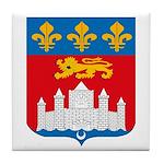 Bordeaux City Tile Coaster