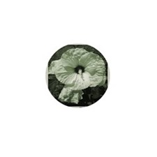 Jurassic Flower Mini Button