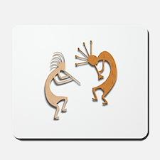 Two Kokopelli #35 Mousepad