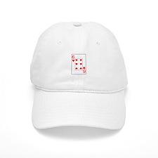 """Six of Hearts"" Baseball Cap"