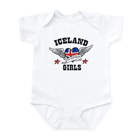 Iceland has the best girls Infant Bodysuit