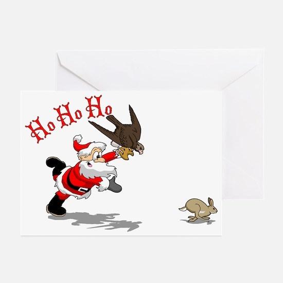 Hunting Santa Greeting Cards (Pk of 10)