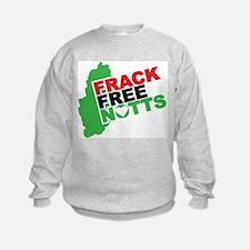 Frack Free Nottinghamshire Sweatshirt