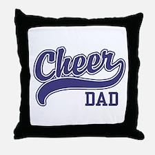 Cheer Dad Throw Pillow