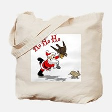 Hunting Santa Tote Bag
