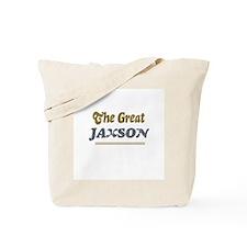 Jaxson Tote Bag