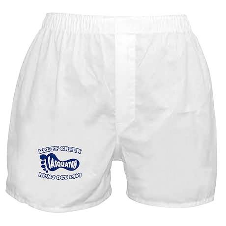 Sasquatch Hunt Boxer Shorts