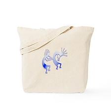 Two Kokopelli #39 Tote Bag