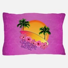 Surfer Girl Pillow Case
