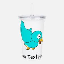 Blue Bird (Custom) Acrylic Double-wall Tumbler