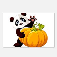 Cute little panda with pu Postcards (Package of 8)