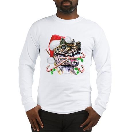 Dino Christmas Long Sleeve T-Shirt