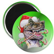 "Dino Christmas 2.25"" Magnet (10 pack)"