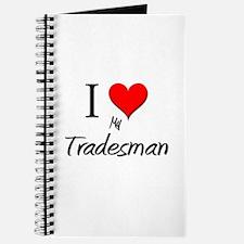 I Love My Tradesman Journal