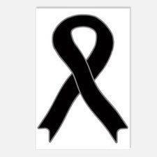 Black Ribbon Postcards (Package of 8)