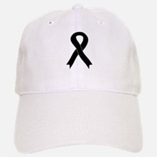 Black Ribbon Baseball Baseball Cap