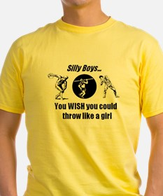 Thrower Girl T-Shirt