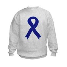 Navy Blue Ribbon Sweatshirt
