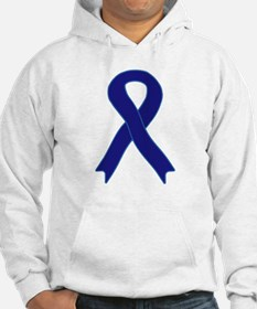 Navy Blue Ribbon Jumper Hoody