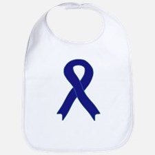Navy Blue Ribbon Bib