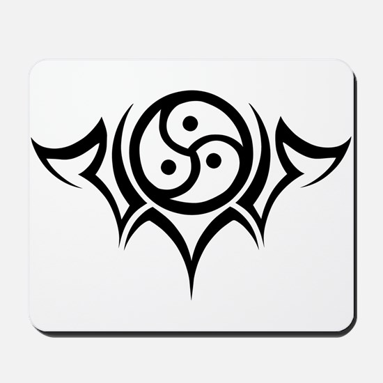 Tribal BDSM Symbol Mousepad